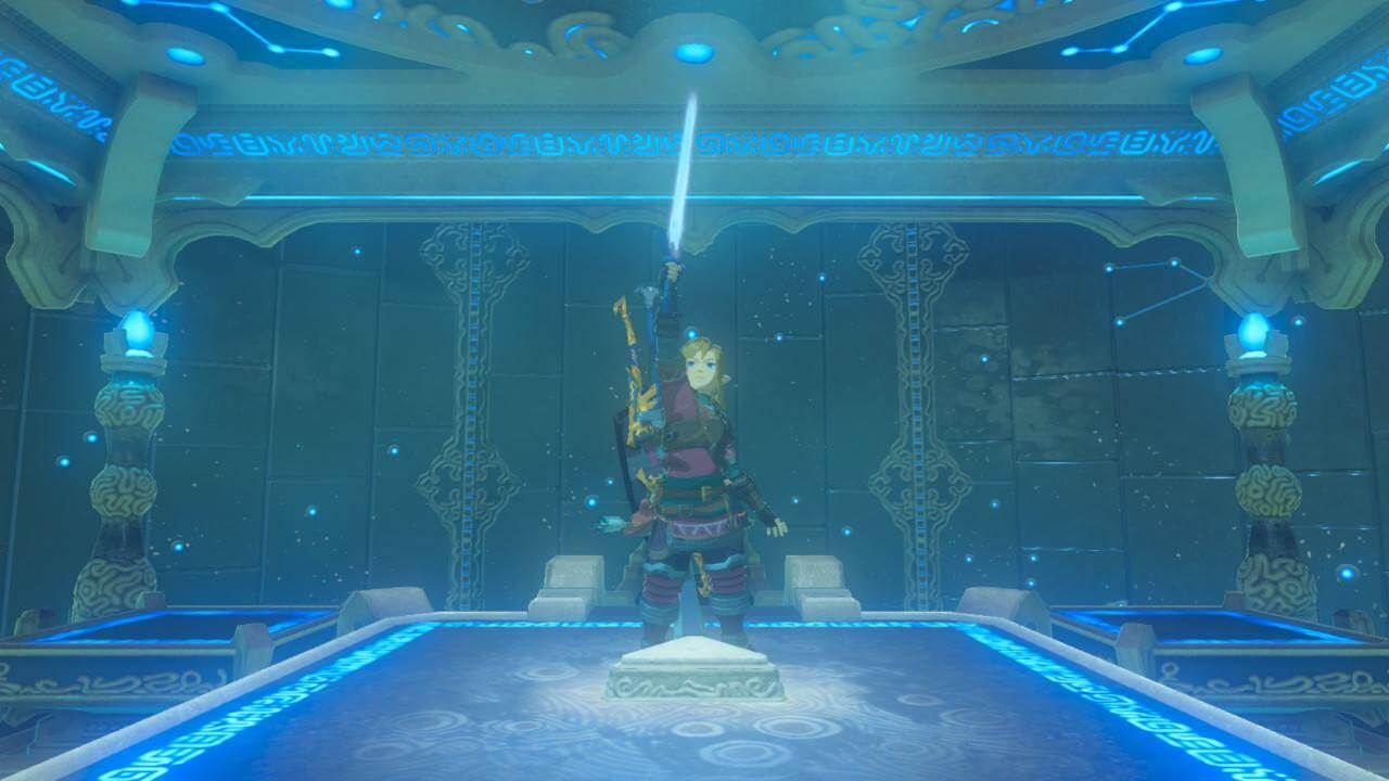 Zelda Breath of the Wild Trial of the Sword Sword Point 2