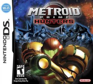 Metroid Prime Hunters Box Art