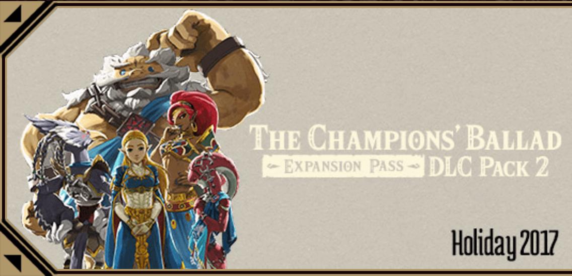 Breath of the Wild The Champions' Ballad Nintendo Direct