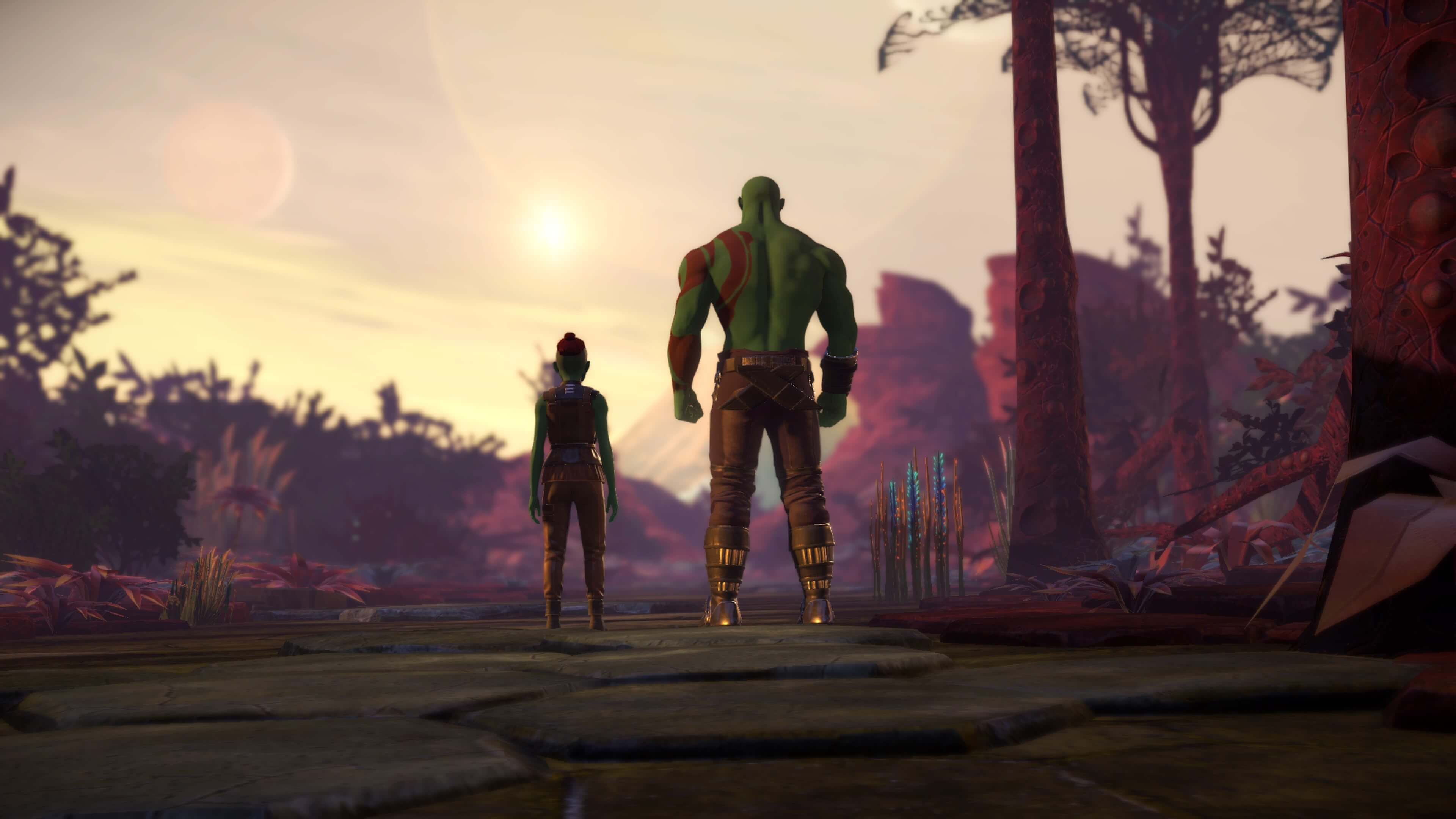Guardians of the Galaxy: The Telltale Series, Episode 4: Who Needs You Impressions Drax and Daughter