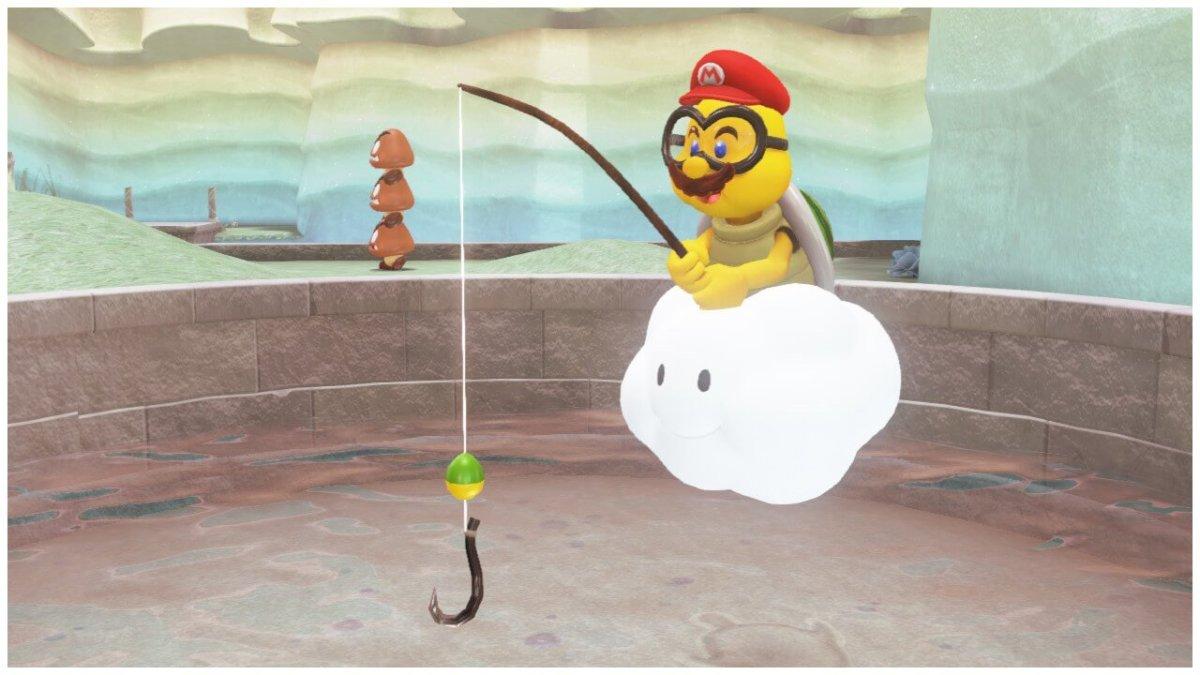 Lakitu Capture Mario Odyssey