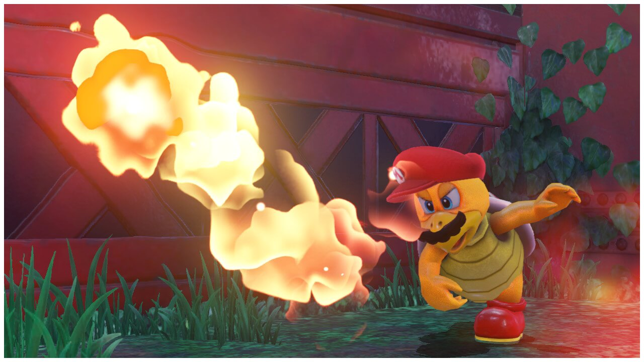 Fire Bro Capture Mario Odyssey