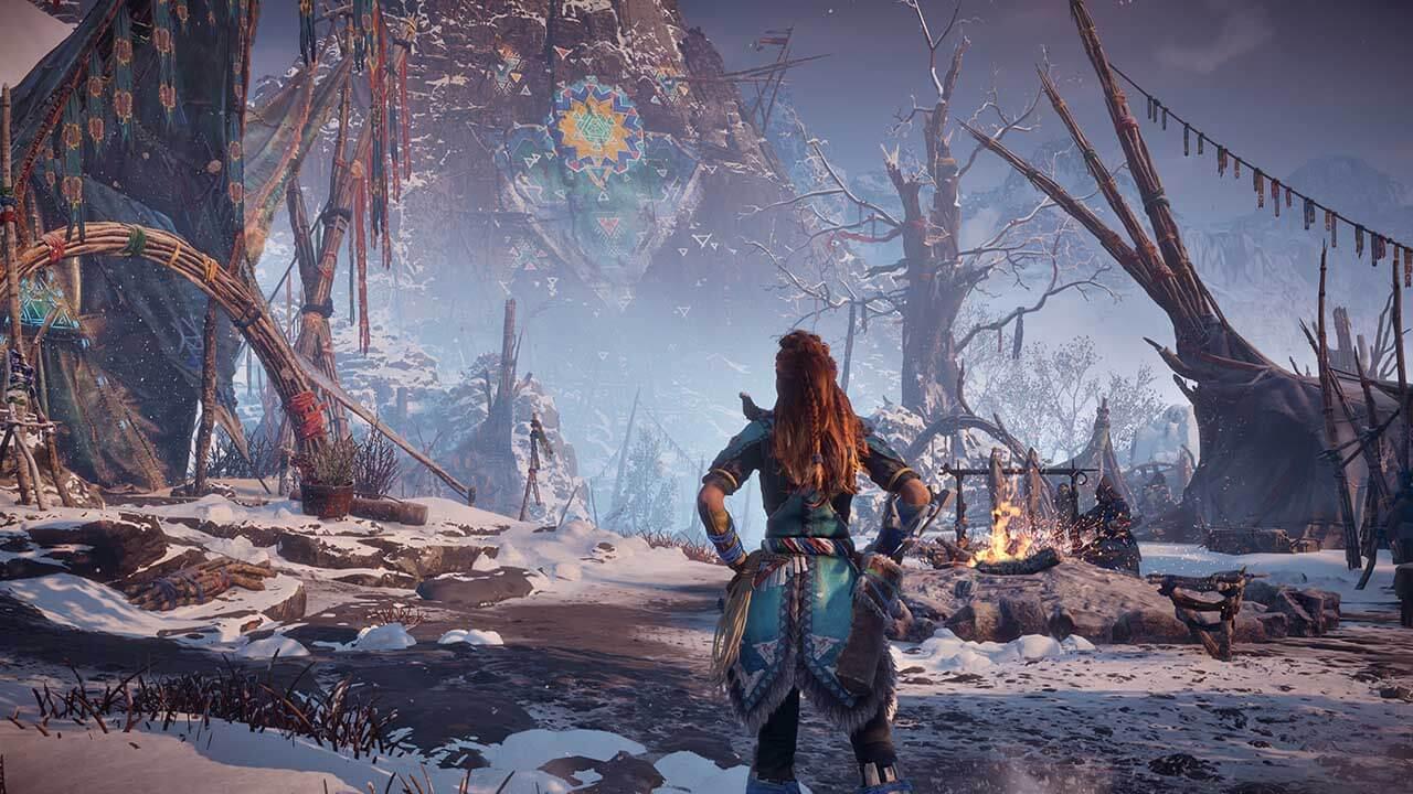 Horizon Zero Dawn The Frozen Wilds Release