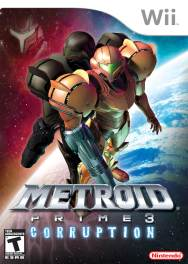 Metroid Prime 3 Corruption Box Art