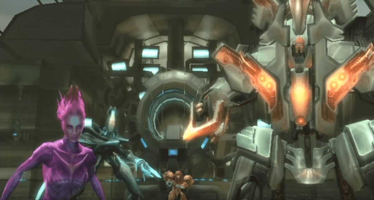 Metroid Prime 3 Corruption four hunters