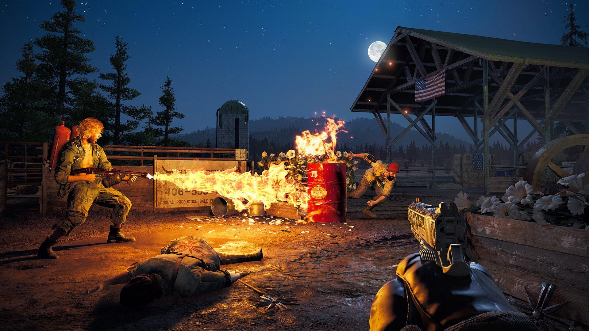 Far Cry 5 Flamethrowers