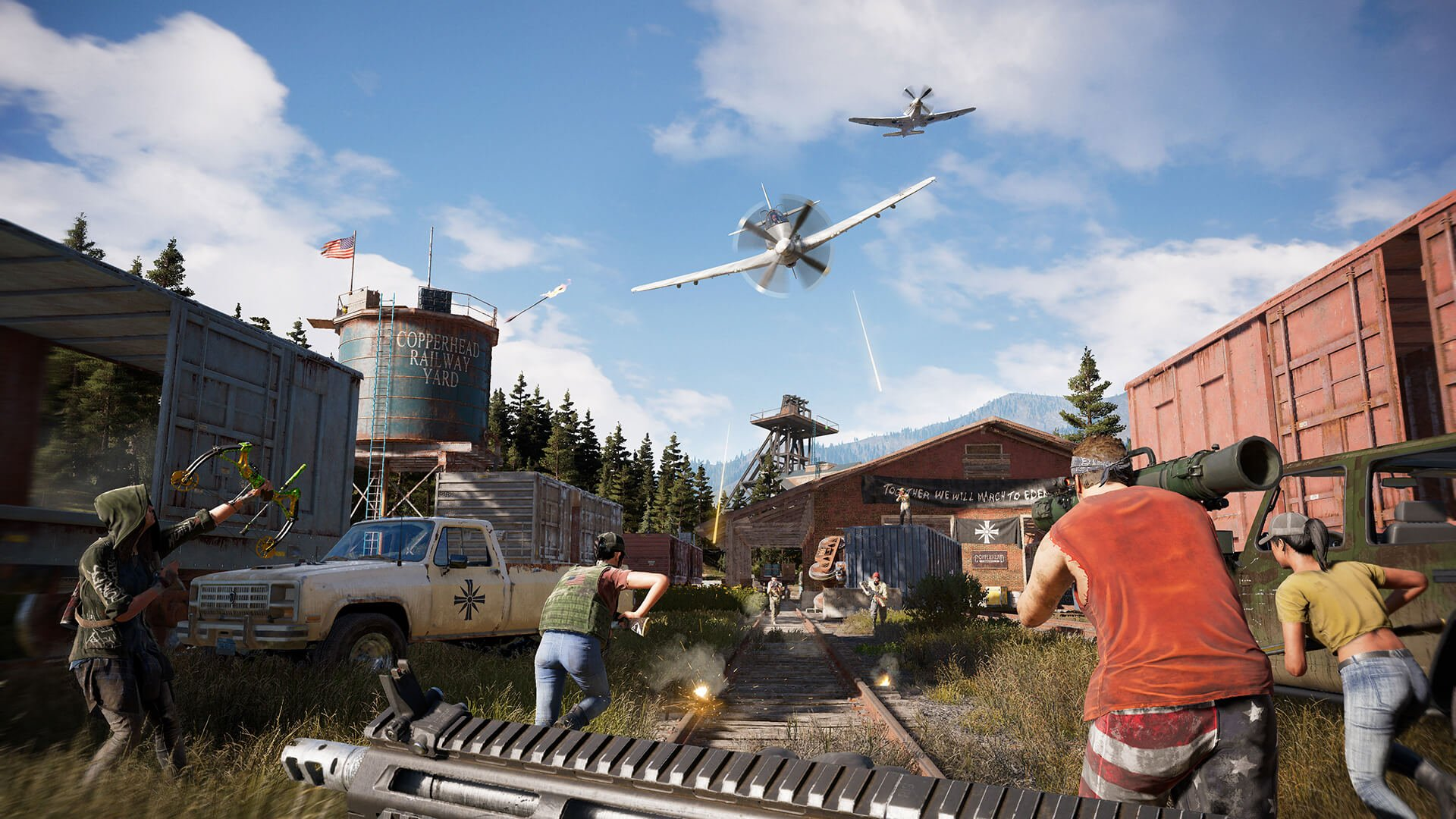 Far Cry 5 Co-Op Insanity