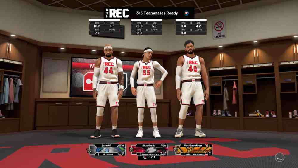 My squad in 2K20. Averages aren't everything but they can be telling.