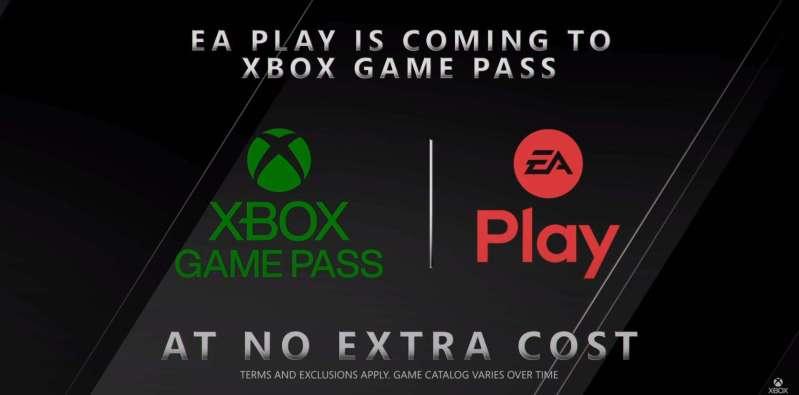 Xbox and EA logos