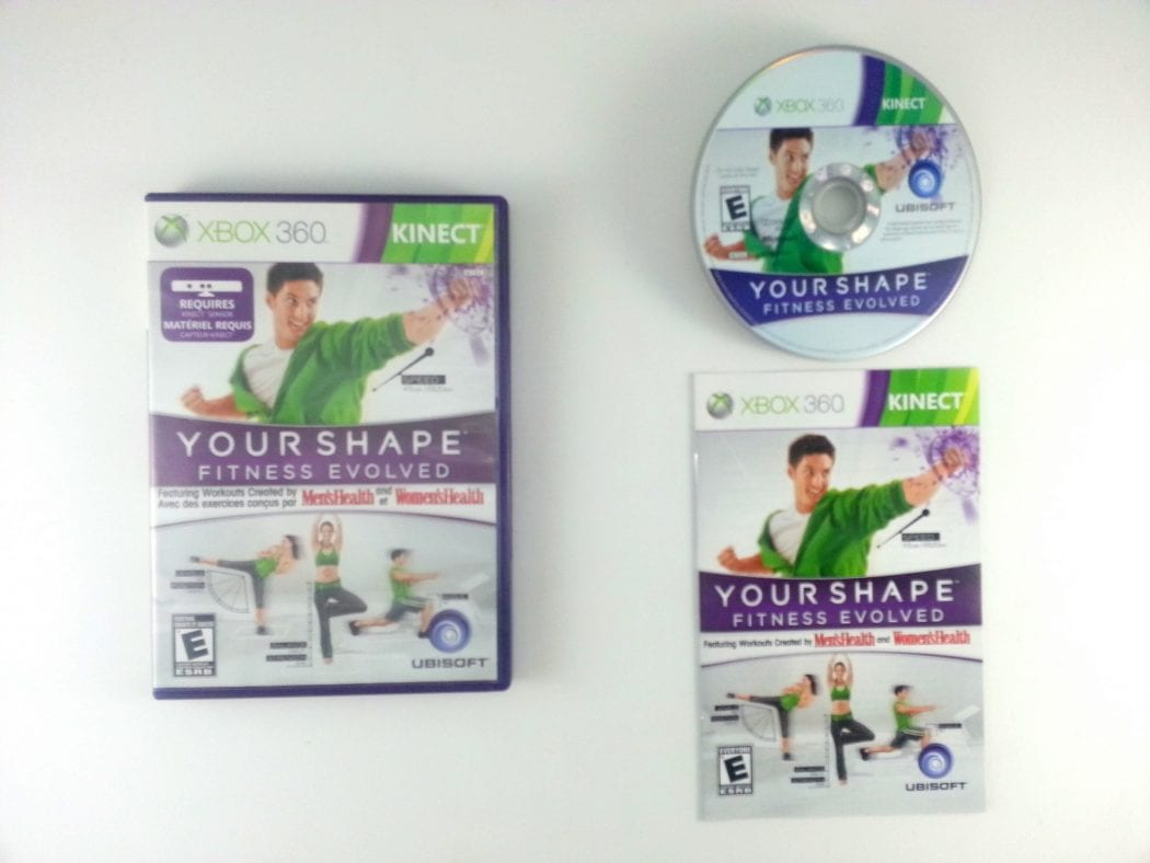 Your Shape Fitness Evolved Game For Xbox 360 Complete