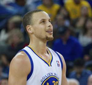 Steph Curry is on a tear for the Warriors in '15 as his career continues to trend upwards. Credit: Noah Salzman