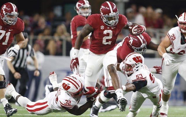 Derrick Henry won the Heisman by running well against good defenses. Courtesy of CBSsports.com