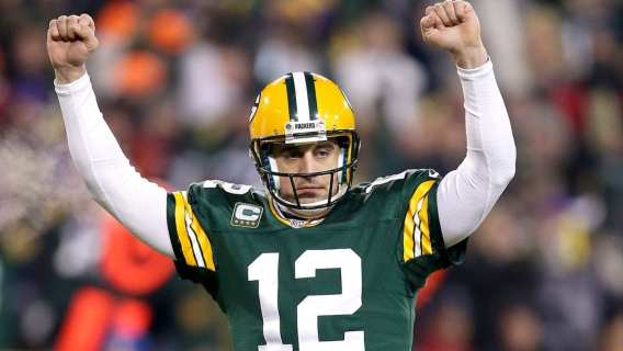 Aaron Rodgers back on top? (Photo by: Fox Sports)