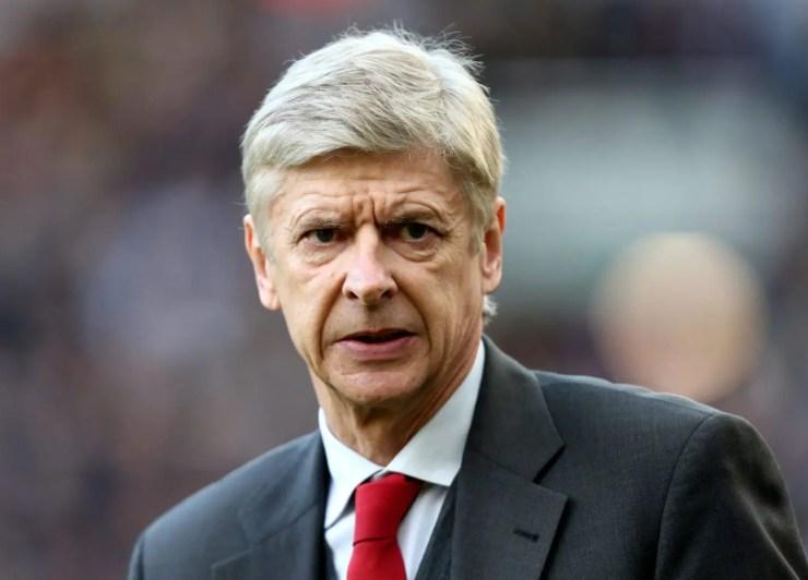 Arsene Wenger umutoza w'ikipe ya Arsenal.