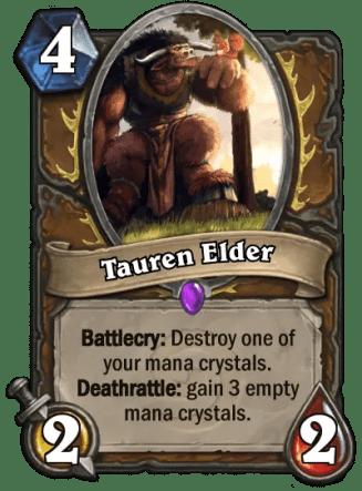 Tauren Elder card