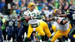 Aaron Rodgers should be the number one quarterback on your draft board this season. (Photo: Christian Peterson/Getty Images)