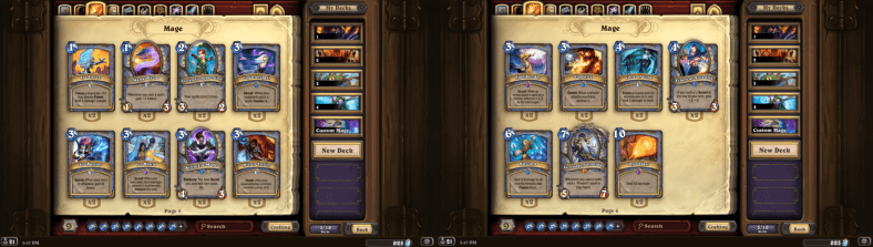 Mage Classic cards