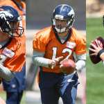 The Three Horse Quarterback Race In Denver