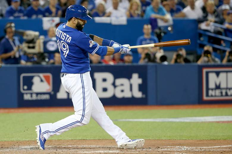 Jose Bautista has powered the Jays to the playoffs before...can he do it again? Photo courtesy of Getty Sports