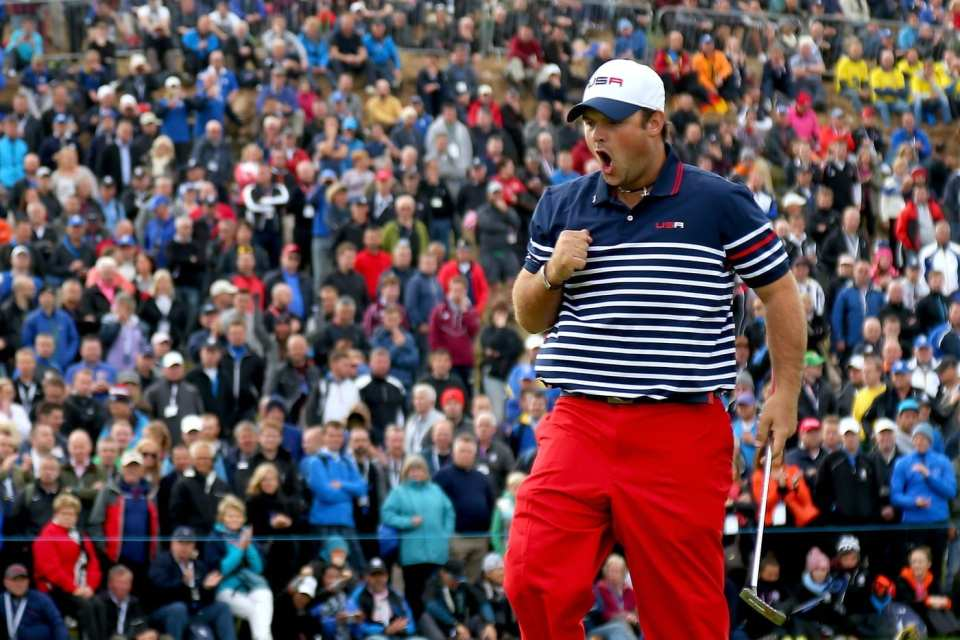 Patrick Reed Ryder Cup (Courtesy of Getty Images via golfdigest.com)