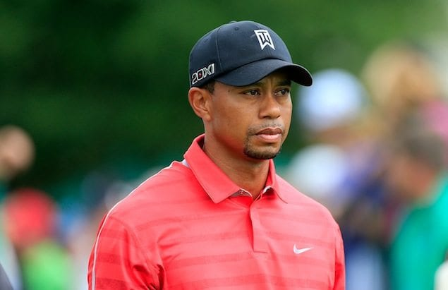 Tiger Woods (Courtesy of Getty Images via cbssports.com)