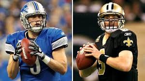 Expect Mat Stafford and Drew Brees to be heavily owned this weekend as they have one of the largest over/unders of the season.