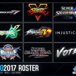 Evo 2017 Lineup Announced, Community Funded Vote to Decide Ninth Game