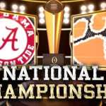 2017 College Football Playoff National Championship Preview