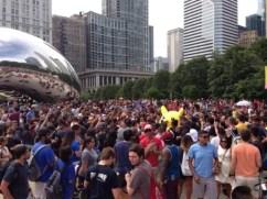 Pokémon GO fans gather in chicago