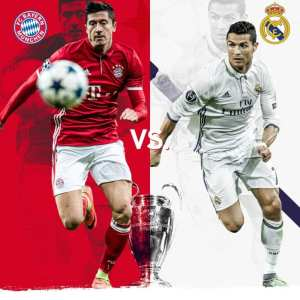 Champions League Quarter Final Bayern v Munich