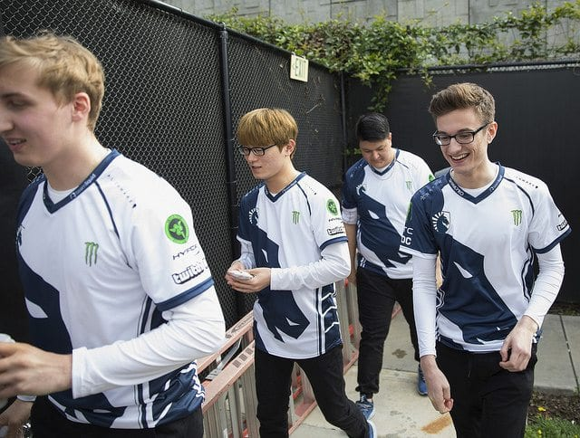 Team Liquid's starting roster for 2017 NA LCS Summer Split
