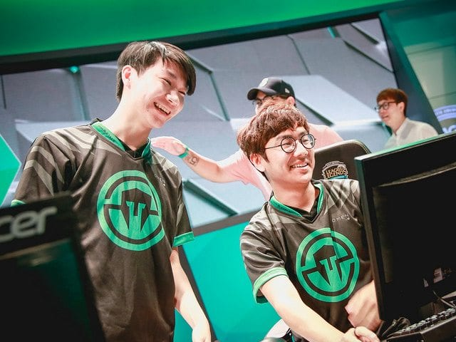 IMT Cody Sun and Olleh are above expectations in bottom lane