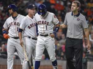 J.D. Martinez trade Carlos Correa injury Julian Edelman Kyrie Irving