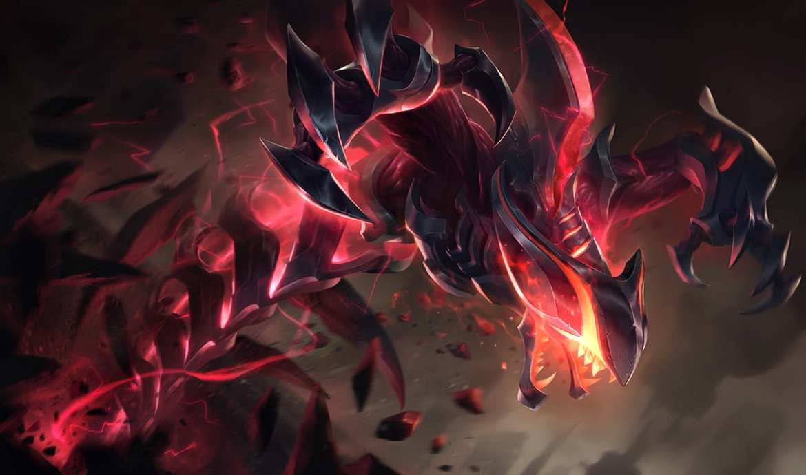 Rek'Sai jungle is trending in Rift Rivals