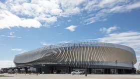 The new Nassau Coliseum is not in major contention yet to be the Islanders arena