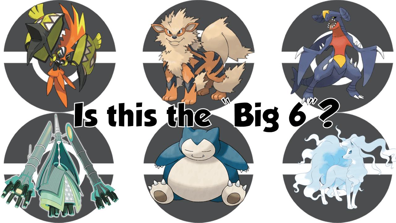 pokemon big 6