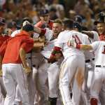 The 2017 Boston Red Sox are hitting their stride