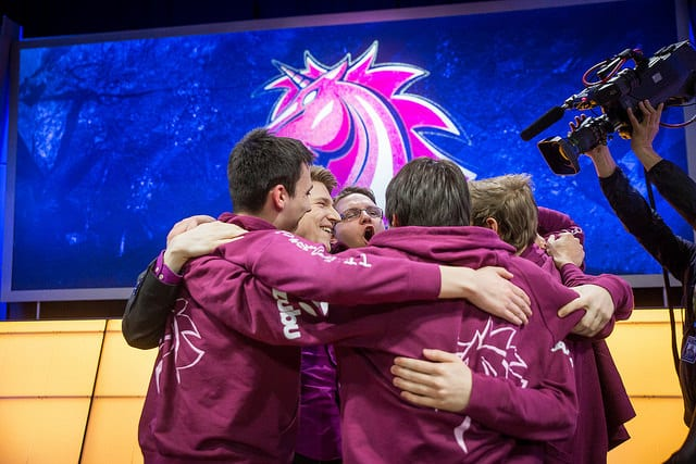 Unicorns of Love entered the EU LCS in 2015