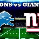 Fantasy Monday night preview: Giants vs. Lions