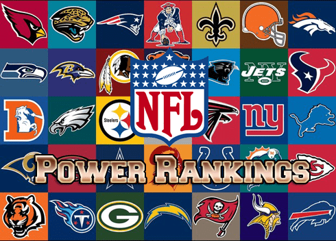 2017 NFL Power Rankings