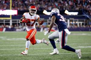 Chiefs Patriots fantasy football