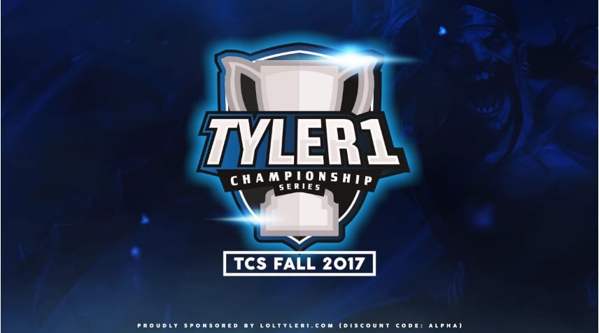 The Tyler1 Championship Series is coming soon