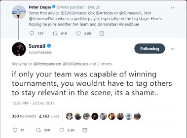 dota 2, sumail, peter, ppd, optic gaming, evil geniuses