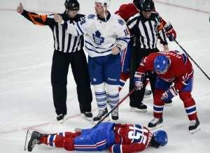 NHL concussions