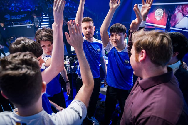 Giants are currently tied for second in the 2018 EU LCS