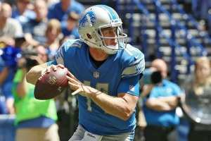 Detroit Lions quarterbacks