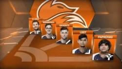 Echo Fox finish the regular season Academy League in fourth place