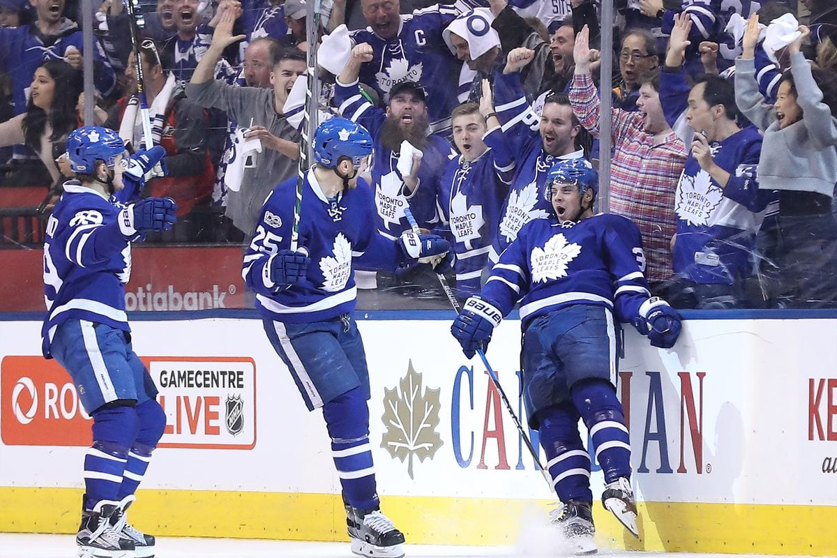 Toronto Maple Leafs conference favorites