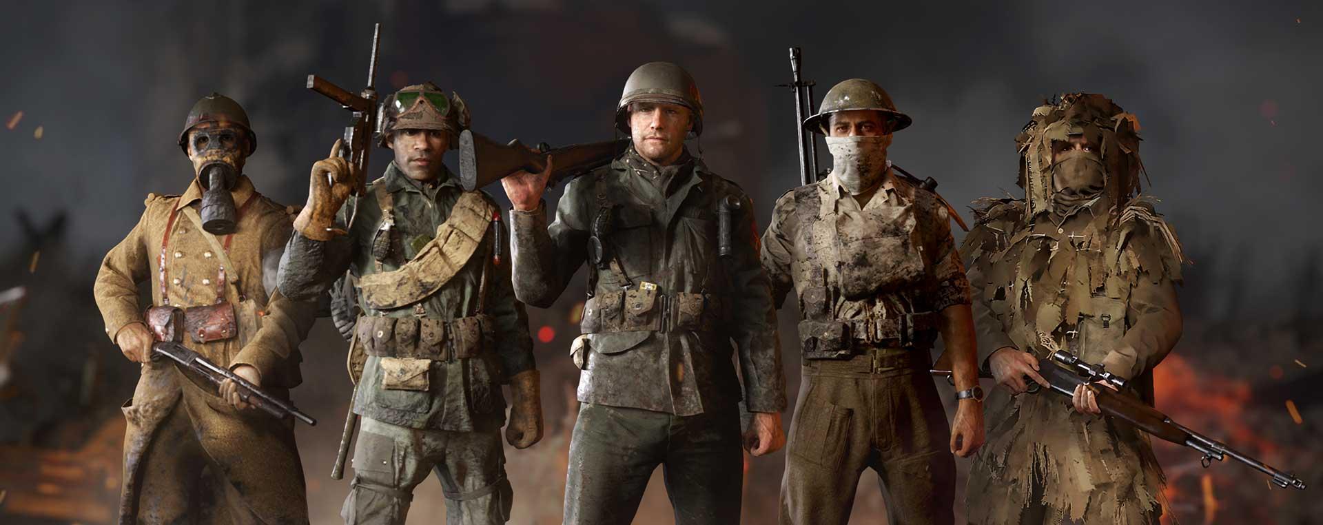 CoD WW2 Divisions
