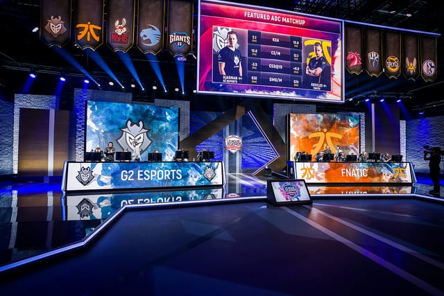 G2 and Fnatic face each other for the first time in the finals for 2018 EU LCS Spring Split